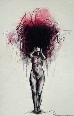 bf733d079f246fed13ba5d636eb6a1de--depression-sketch-dark-art-depression
